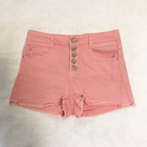 Jolt size 7 button fly shorts